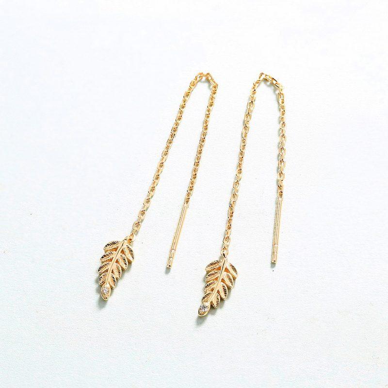 Bộ trang sức bạc mạ vàng Cây ô liu LILI_561446-07
