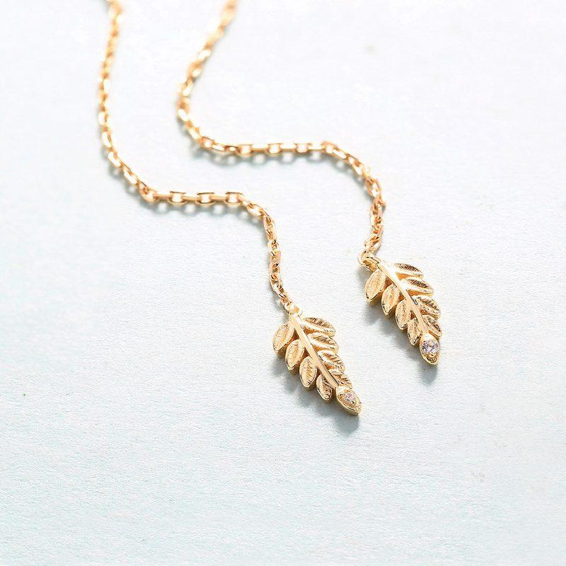 Bộ trang sức bạc mạ vàng Cây ô liu LILI_561446-08