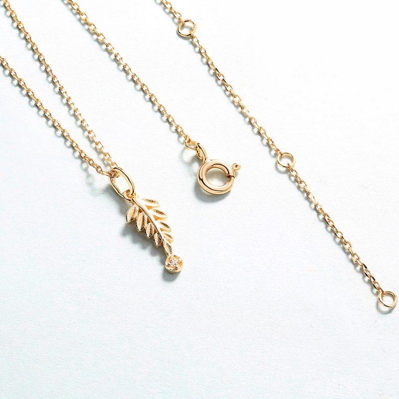 Bộ trang sức bạc mạ vàng Cây ô liu LILI_561446-10