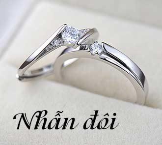 Nhẫn đôi 1f
