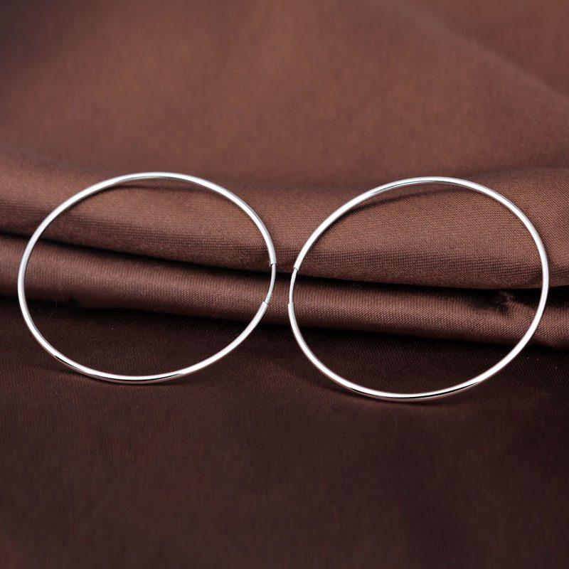 Bông tai bạc tròn Adore LILI_637164_4