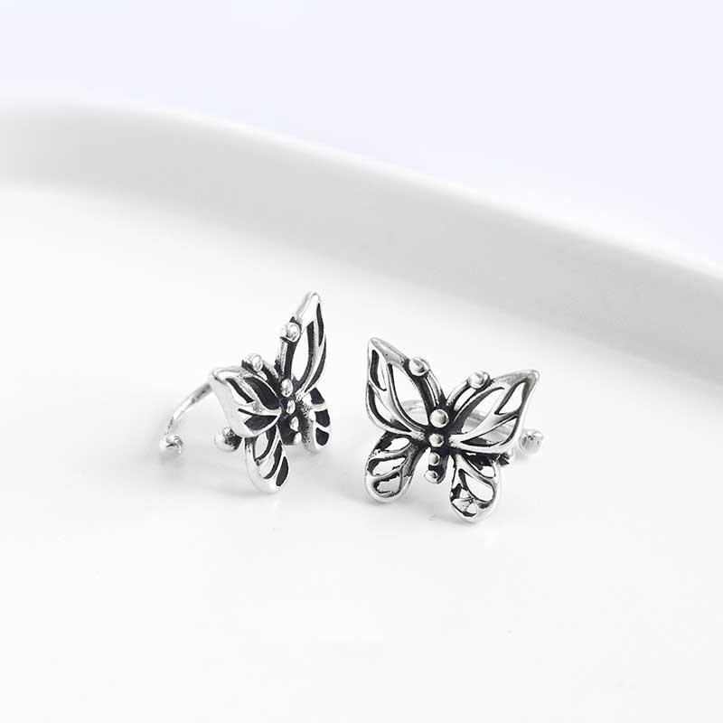 Bông tai kẹp bạc Butterfly LILI_869937_3