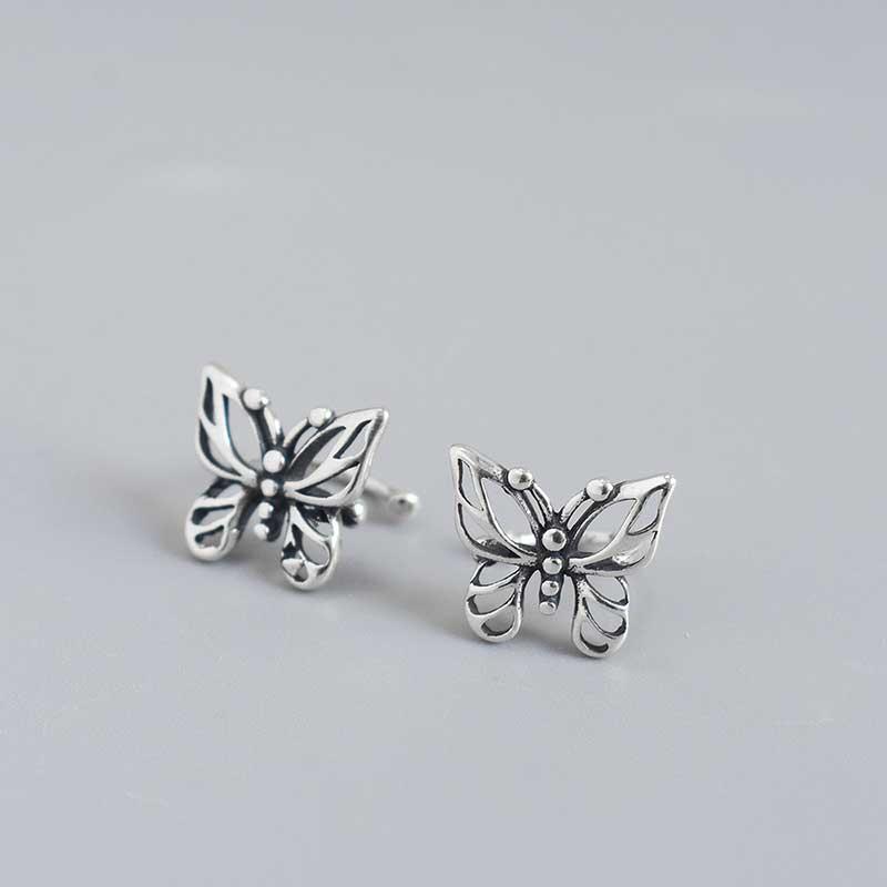 Bông tai kẹp bạc Butterfly LILI_869937_4