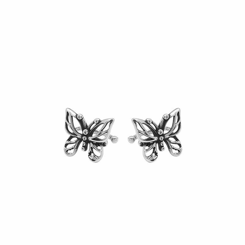 Bông tai kẹp bạc Butterfly LILI_869937_5