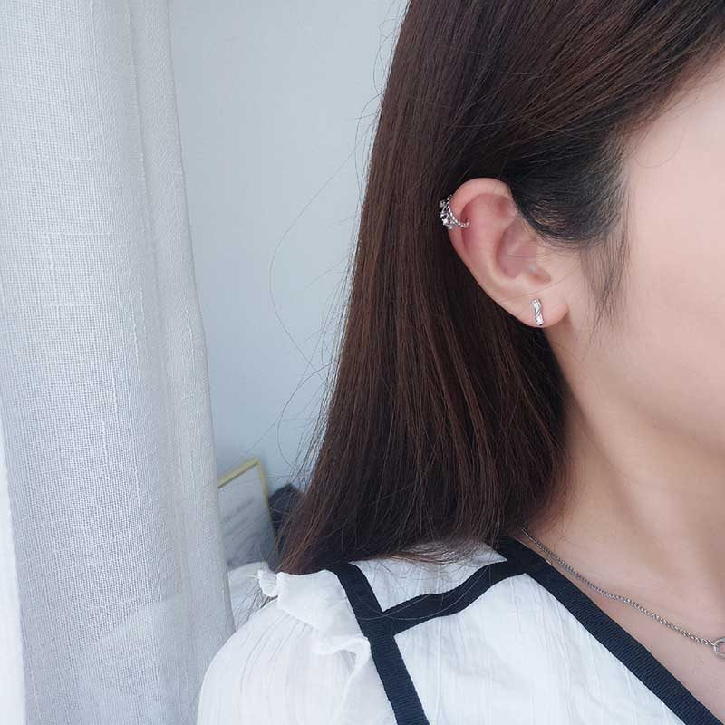 Bông tai kẹp bạc đính đá Zircon Juliet LILI_759448_21