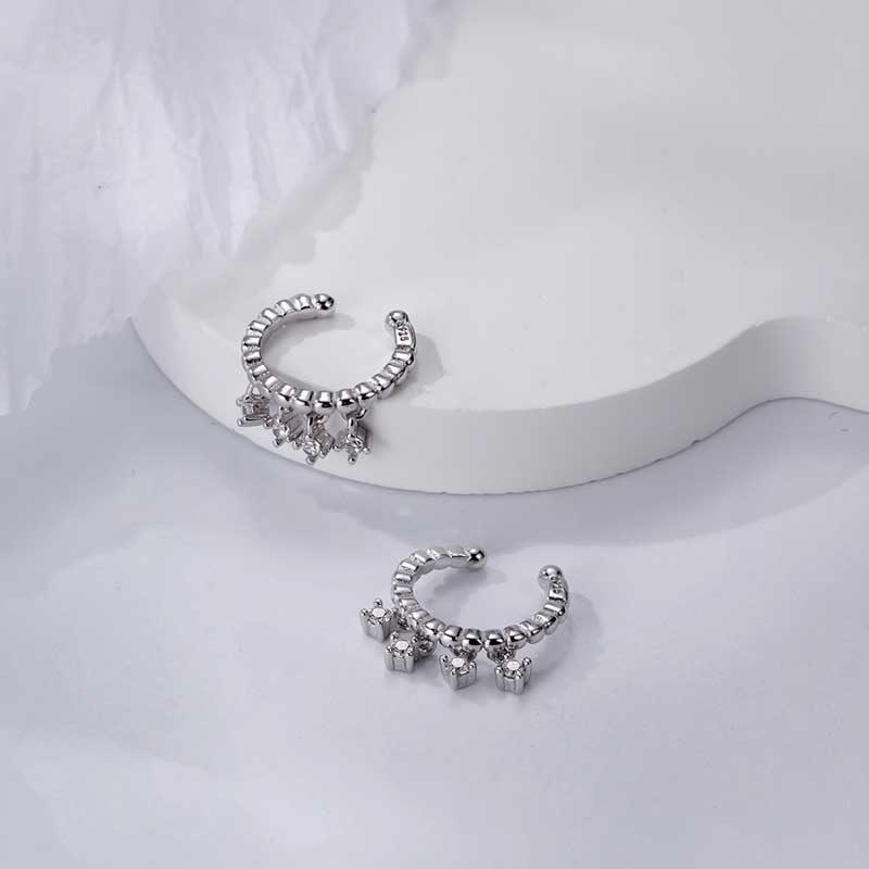 Bông tai kẹp bạc đính đá Zircon Juliet LILI_759448_31