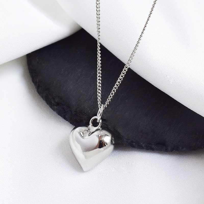 Dây chuy�n bạc hình trái tim LOVE LILI_259367_1