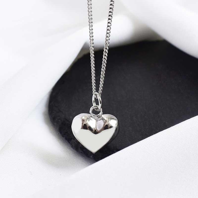 Dây chuyền bạc hình trái tim LOVE LILI_259367_3
