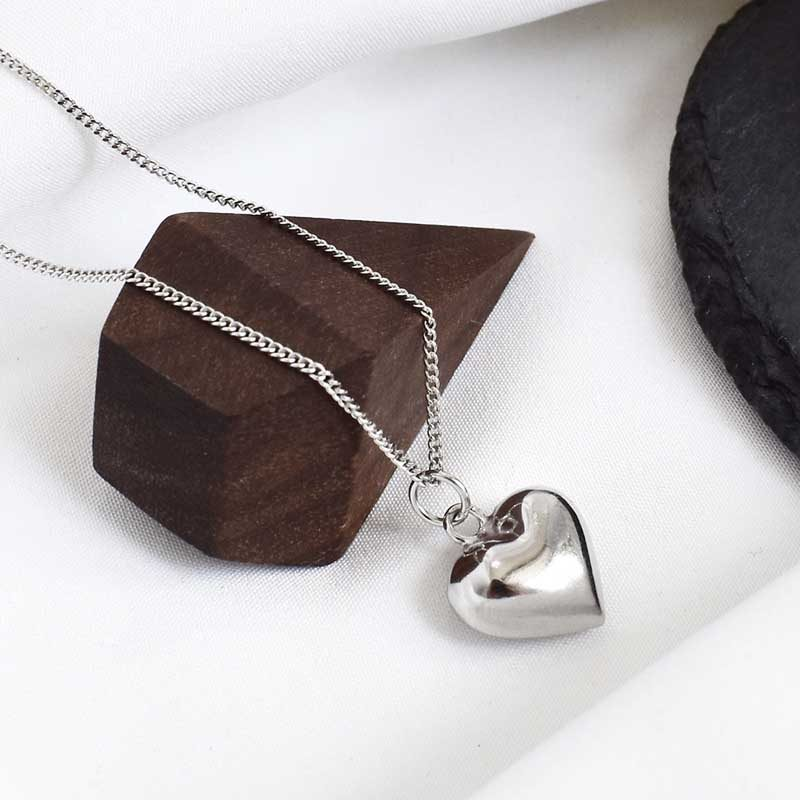 Dây chuyền bạc hình trái tim LOVE LILI_259367_4