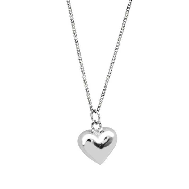 Dây chuyền bạc hình trái tim LOVE LILI_259367_5
