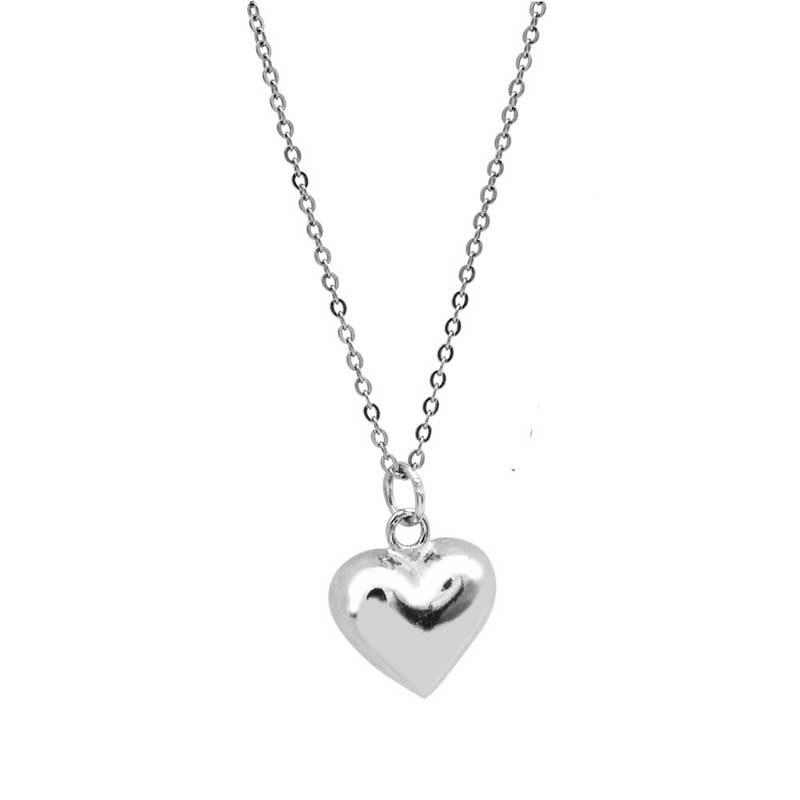 Dây chuyền bạc hình trái tim LOVE LILI_259367_6