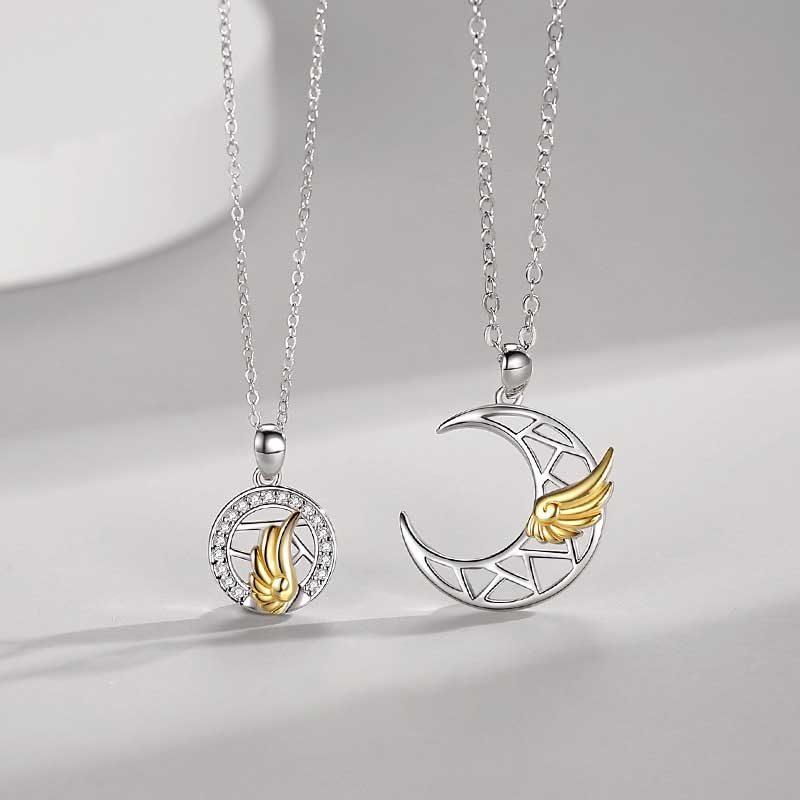 Dây chuyền đôi bạc đôi cánh thiên thần LILI_482896_1