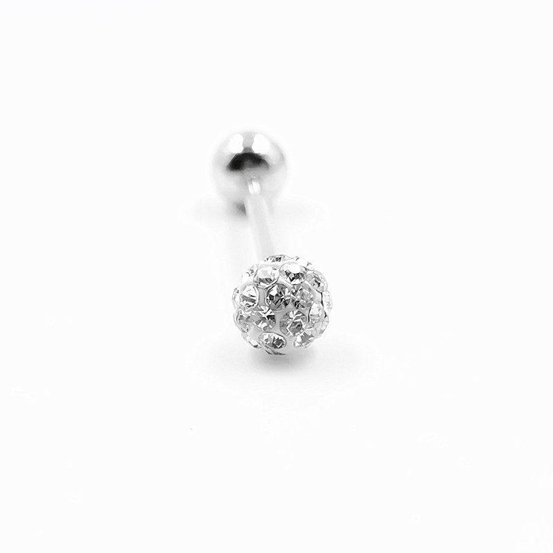 Khuyên lưỡi bạc nữ-nam đính đá Zircon 16 mm LILI_234832_1