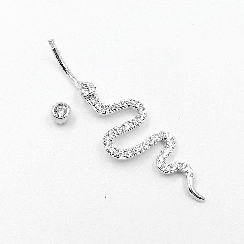 Khuyên rốn bạc nữ rắn nhỏ LILI_548585_4