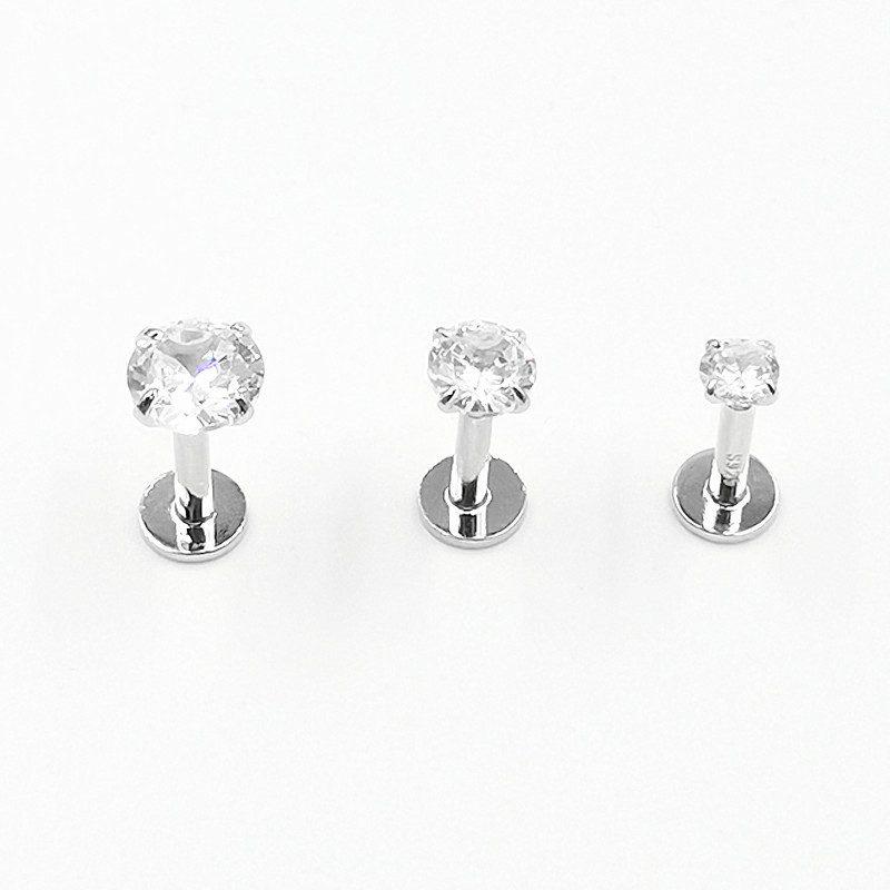 Khuyên xỏ bạc nữ dùng cho tai, mũi, môi LILI_965964_4