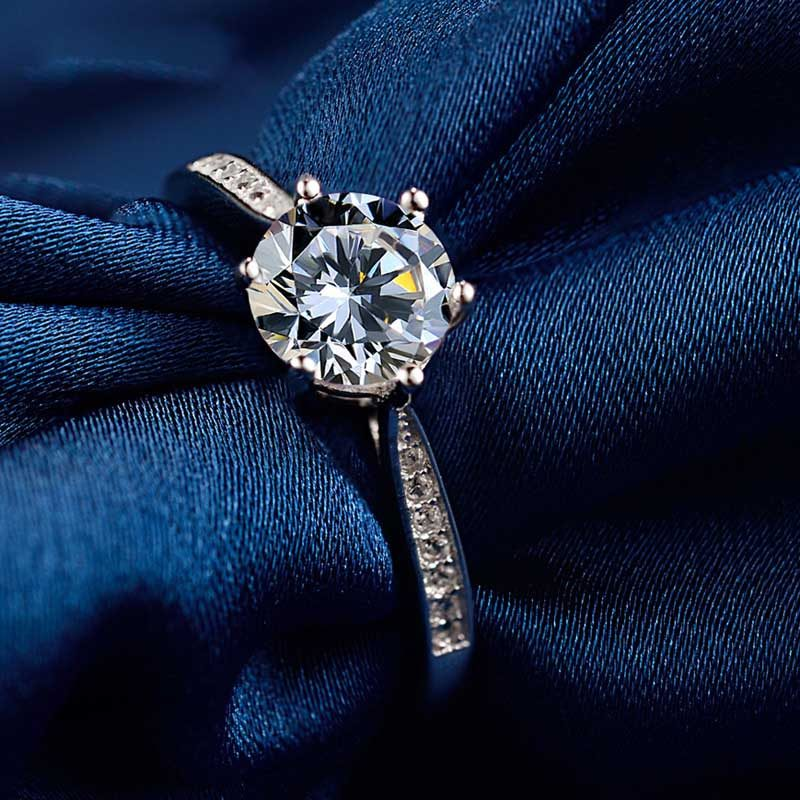 Nhẫn Bạc đính đá Zircon Royal LILI 499436 1