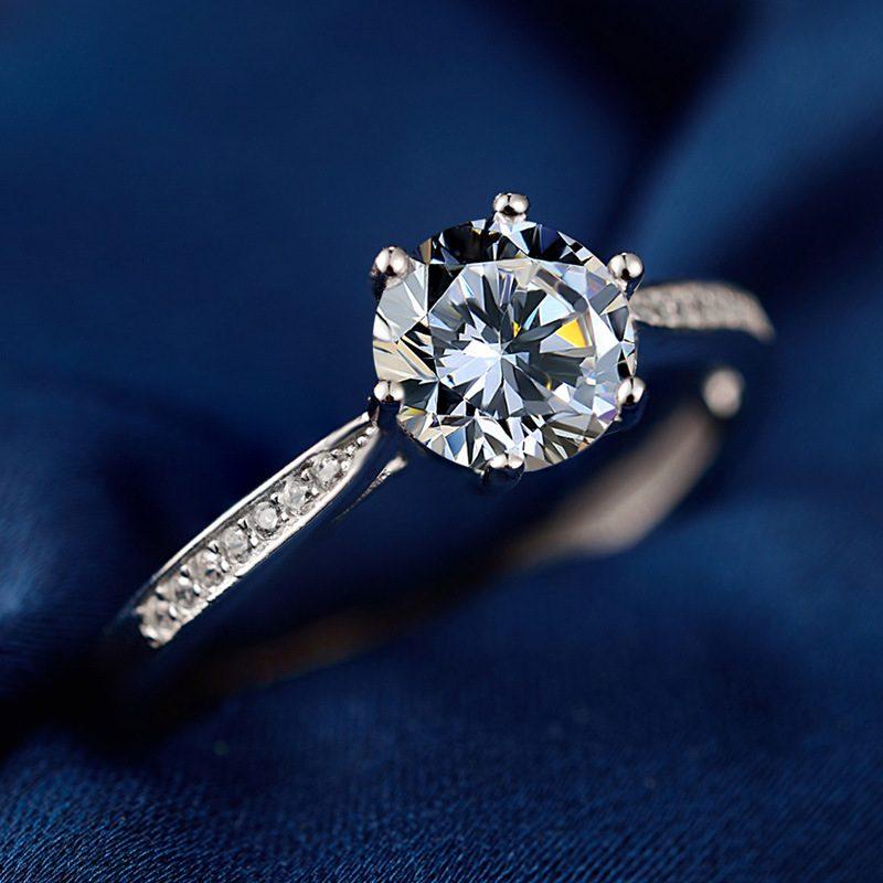 Nhẫn Bạc đính đá Zircon Royal LILI 499436 2