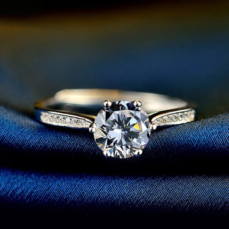 Nhẫn Bạc đính đá Zircon Royal LILI 499436 3