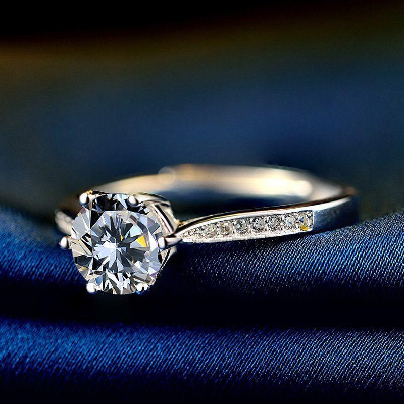 Nhẫn Bạc đính đá Zircon Royal LILI 499436 4