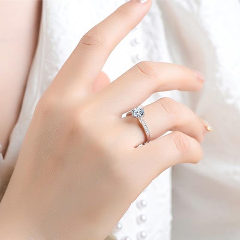 Nhẫn Bạc đính đá Zircon Royal LILI 499436 7
