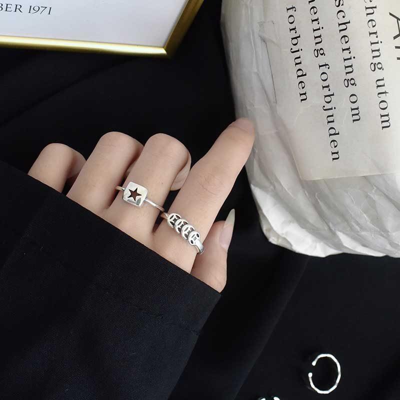 Nhẫn bạc kim tiền LILI_643442_5